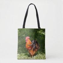 Beautiful Rooster Tote Bag