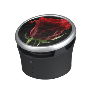 Beautiful Rose and Color Fabric Bluetooth Speaker