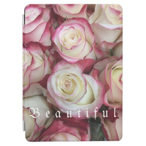 """ Beautiful "" Rose Background , iPad , Labtopcases iPad Air Cover"