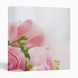 Beautiful Rose Bouquet 3 Ring Binders