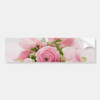 Beautiful Rose Bouquet Bumper Stickers