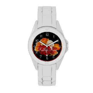Beautiful Rose Bouquet II Wristwatch