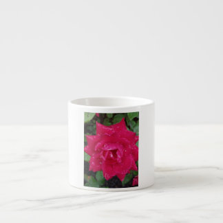 Beautiful rose espresso cup