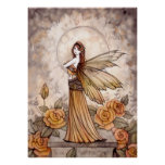 Beautiful Rose Fairy Poster by Molly Harrison
