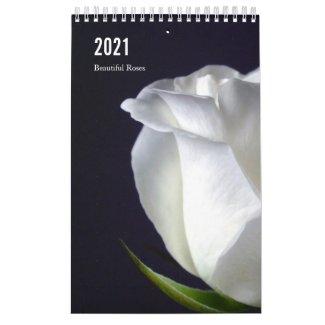 Beautiful Roses 2021 Floral Calendar