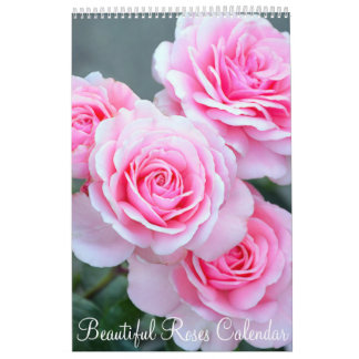 Beautiful roses calendar
