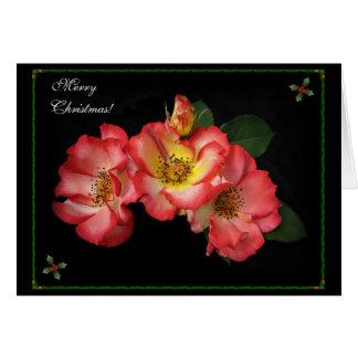 Beautiful Roses Christmas Card 2014!