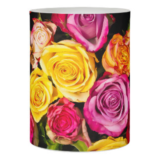 Beautiful Roses Flameless Candle