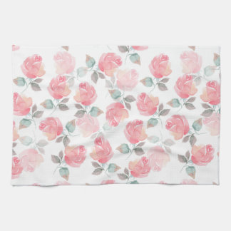 Beautiful roses kitchen towel