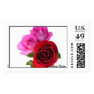 Beautiful Roses Postage