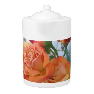 Beautiful Roses Teapot