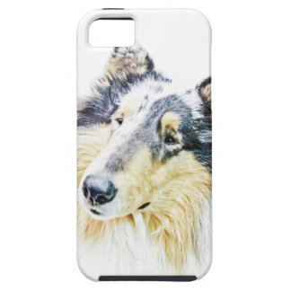 Beautiful Rough Collie dog art iPhone SE/5/5s Case