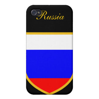 Beautiful Russia Flag iPhone 4/4S Cover