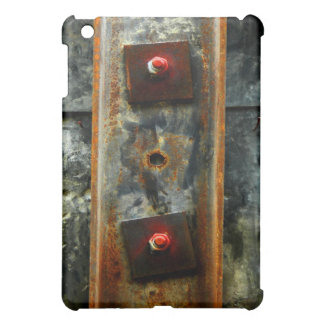 Beautiful rusted metal from construction site iPad mini cover