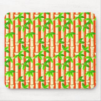 Beautiful  Rustic Bamboo Pattern Mouse Pad
