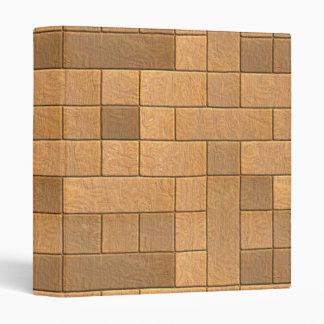 Beautiful Rustic Brick wall Texture 3 Ring Binders
