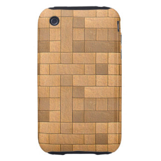 Beautiful Rustic Brick wall Texture iPhone 3 Tough Cover
