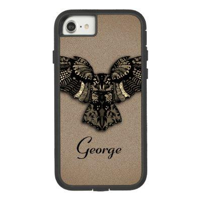 Beautiful Rustic Owl Case-Mate iPhone Case