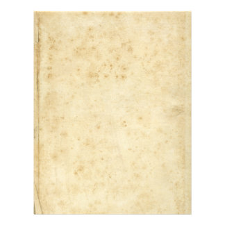 Beautiful Rustic Stained Antique Blank Old Paper Letterhead