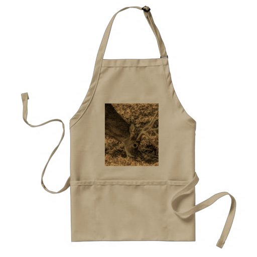 Beautiful rustic wild whitetail buck in the wild aprons