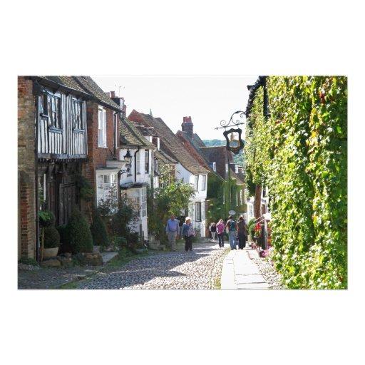 Beautiful Rye in England Customised Stationery