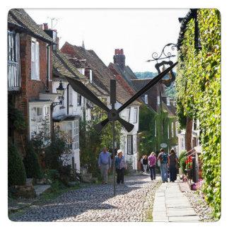 Beautiful Rye in England Wallclocks