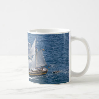 Beautiful sailing boat mug