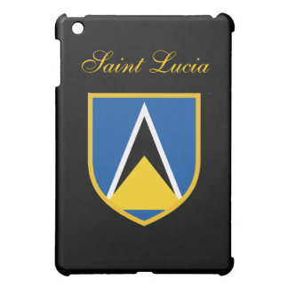 Beautiful Saint Lucia Flag iPad Mini Covers