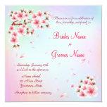 Beautiful  Sakura Card