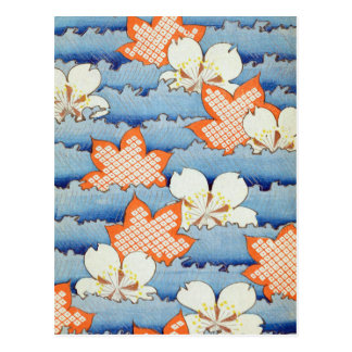 Beautiful Sakura Flower Art Postcards