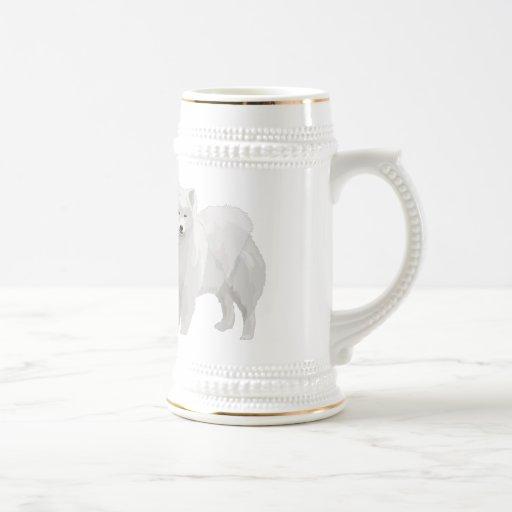 Beautiful Samoyed Coffee Mugs