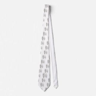 Beautiful Samoyed Neck Tie