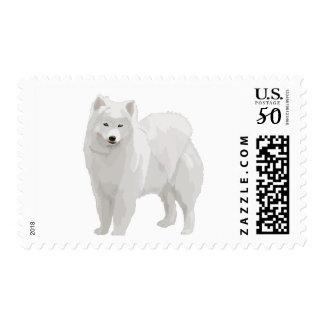 Beautiful Samoyed Postage