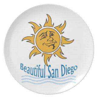 Beautiful San Diego Dinner Plate