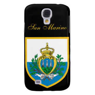 Beautiful San Marino Flag Samsung S4 Case