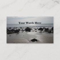 Beautiful Sandy Beach Business Card
