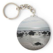 Beautiful Sandy Beach Keychain