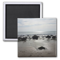 Beautiful Sandy Beach Magnet