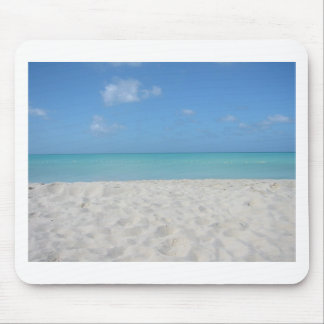 Beautiful Sandy Beach Mouse Pad