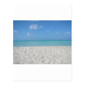 Beautiful Sandy Beach Postcard