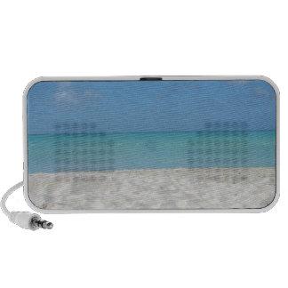 Beautiful Sandy Beach Notebook Speakers