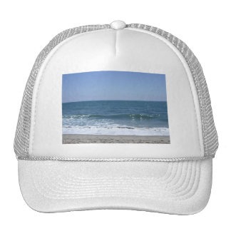 Beautiful Santa Monica Beach Waves Trucker Hat