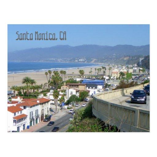 Beautiful Santa Monica Postcard!