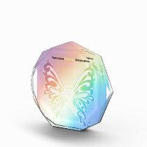 Beautiful Sarcoma Butterfly Acrylic Award