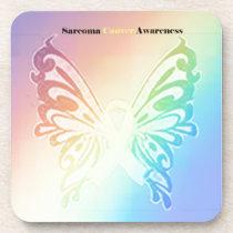 Beautiful Sarcoma Butterfly Coaster