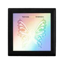 Beautiful Sarcoma Butterfly Keepsake Box
