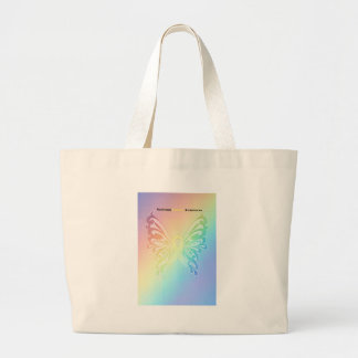 Beautiful Sarcoma Butterfly Large Tote Bag