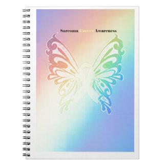 Beautiful Sarcoma Butterfly Notebook