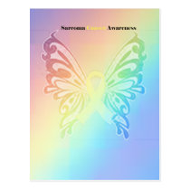 Beautiful Sarcoma Butterfly Postcard