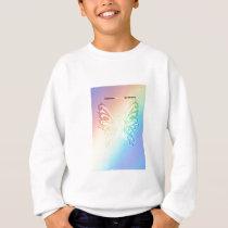 Beautiful Sarcoma Butterfly Sweatshirt